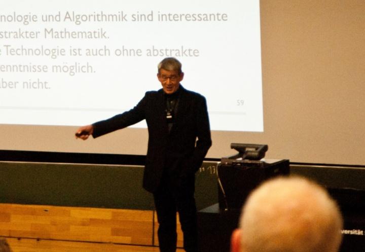 09.11.2018 - Abschiedsvorlesung Prof. Wolfgang Keller  (c) WK